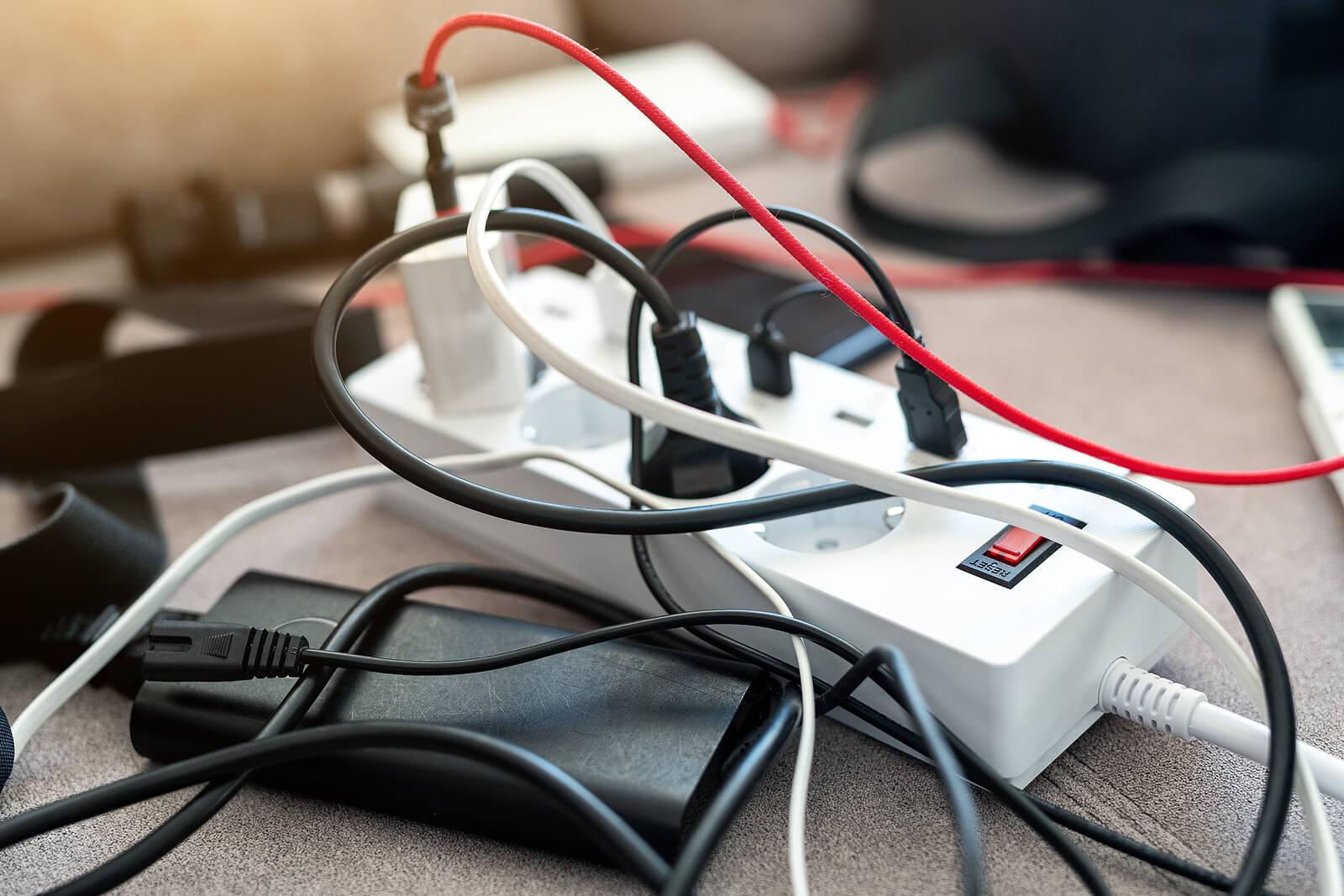 Never Plug Into Power Strip